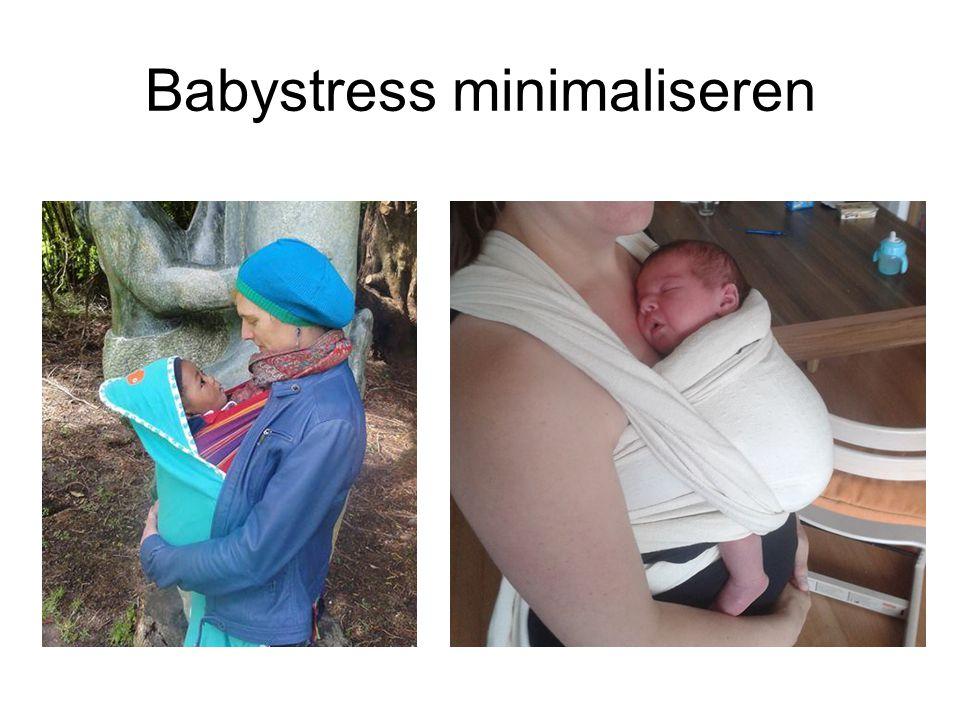 Babystress minimaliseren