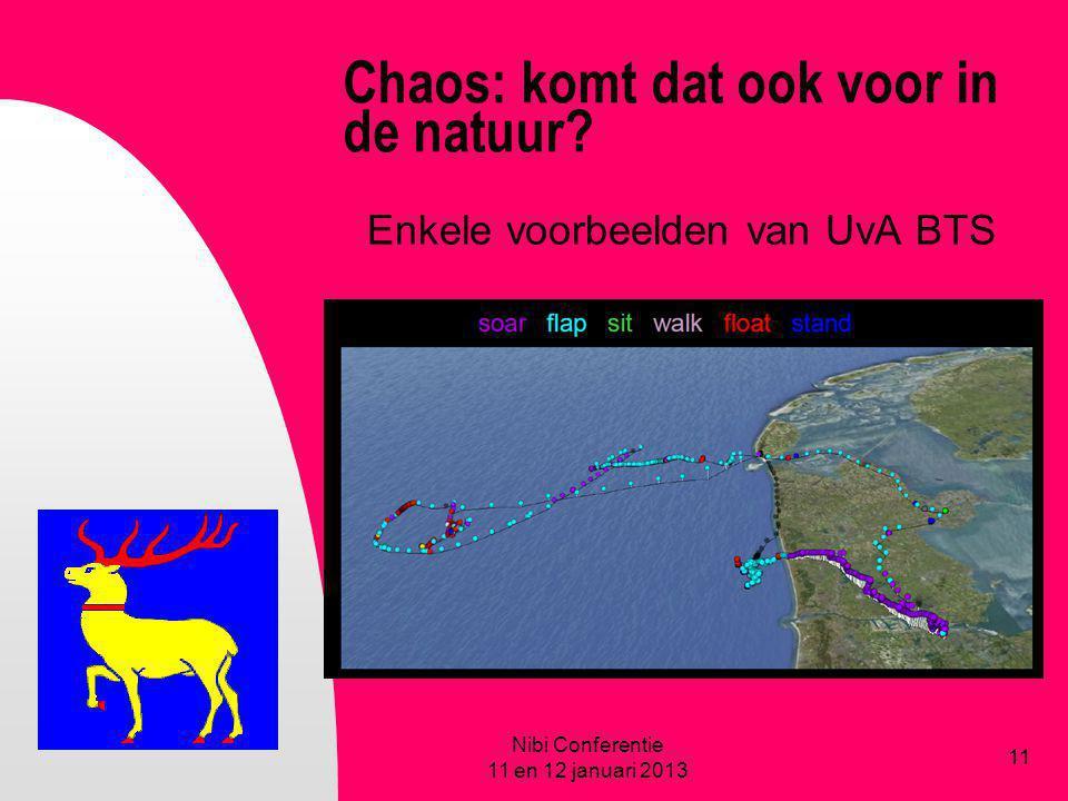 Chaos: komt dat ook voor in de natuur