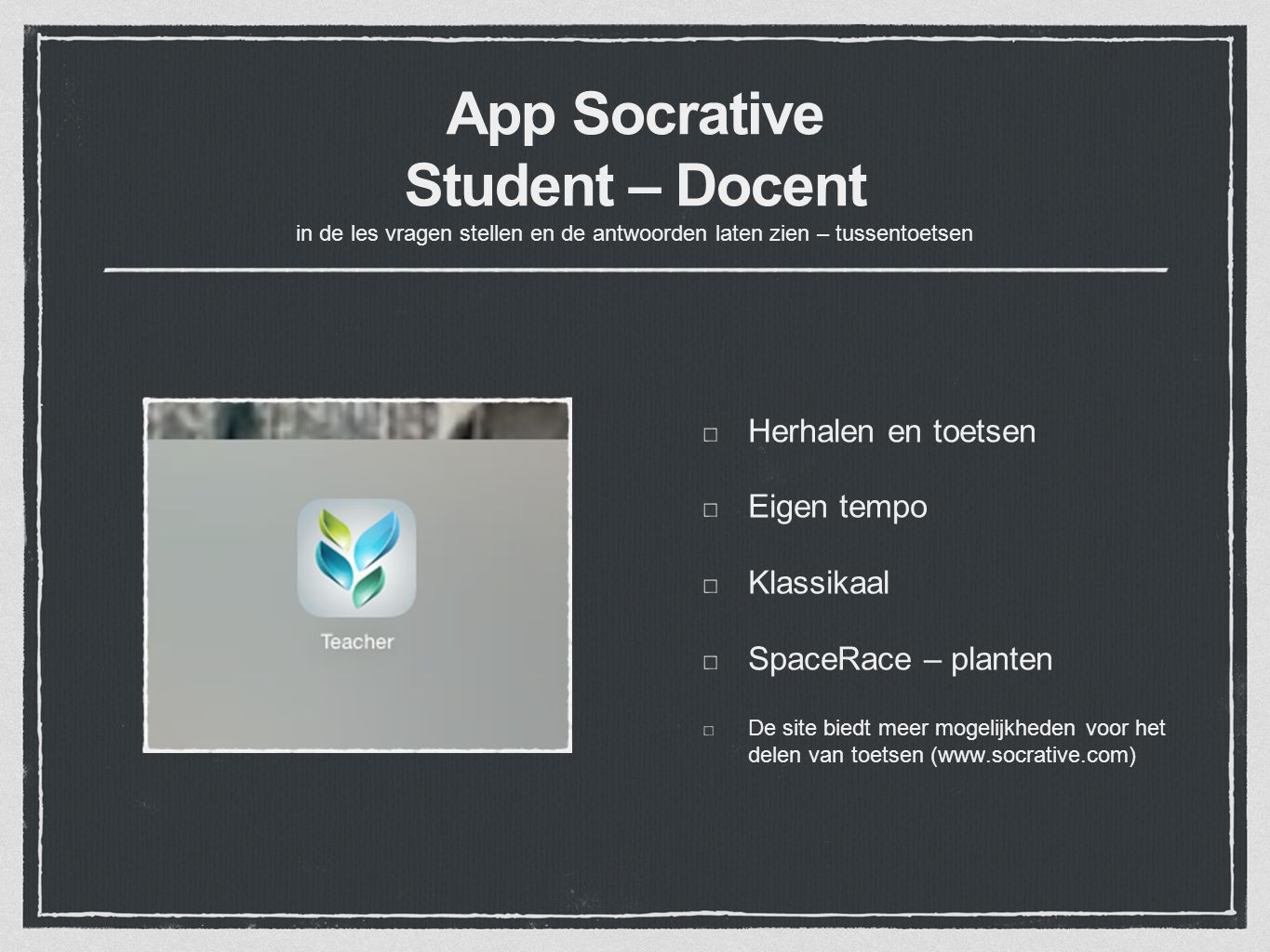 how to send socrative to student