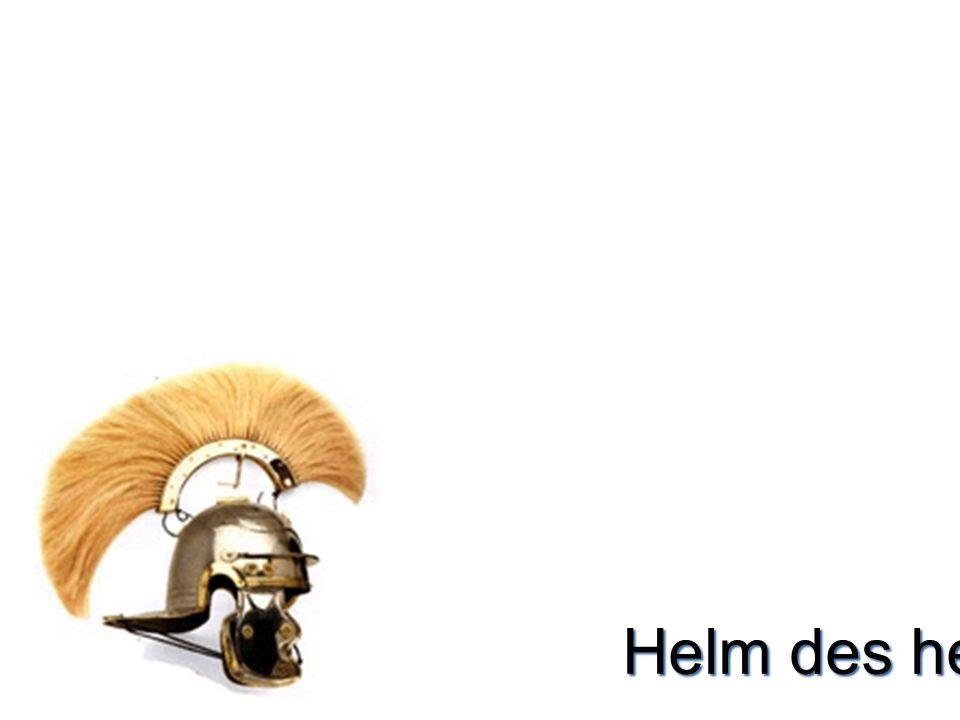 Helm des heils