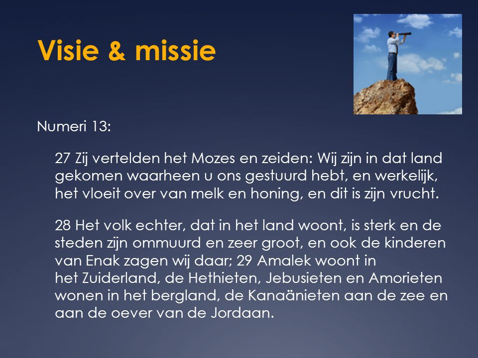 Visie & missie