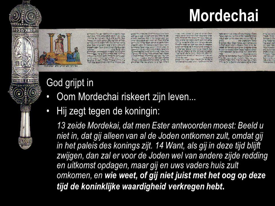Mordechai God grijpt in Oom Mordechai riskeert zijn leven...