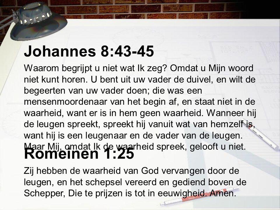 Johannes 8:43-45