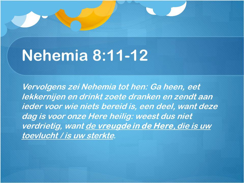 Nehemia 8:11-12