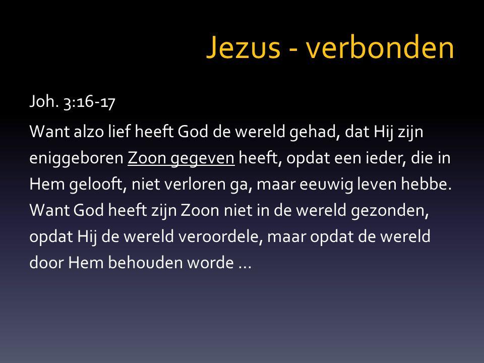 Jezus - verbonden