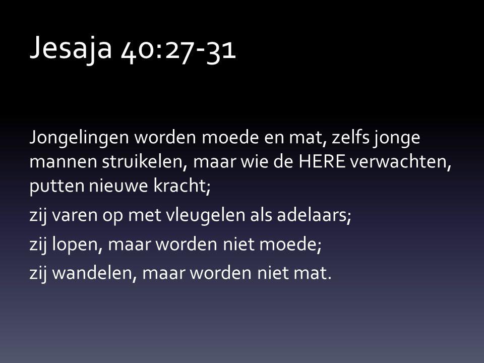 Jesaja 40:27-31