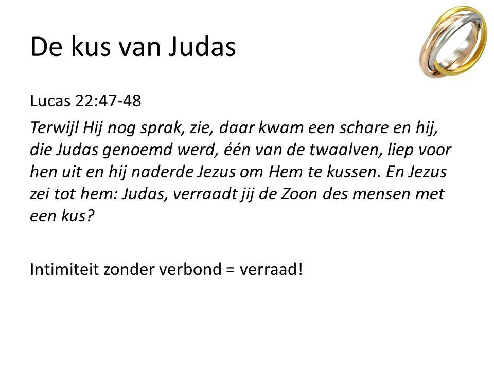 De kus van Judas