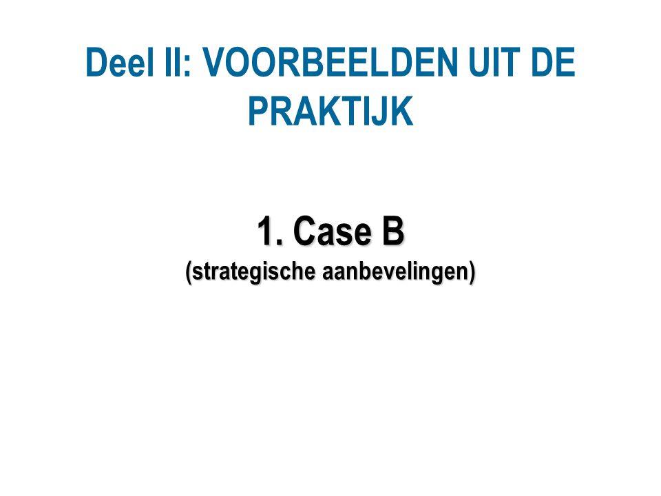1. Case B (strategische aanbevelingen)
