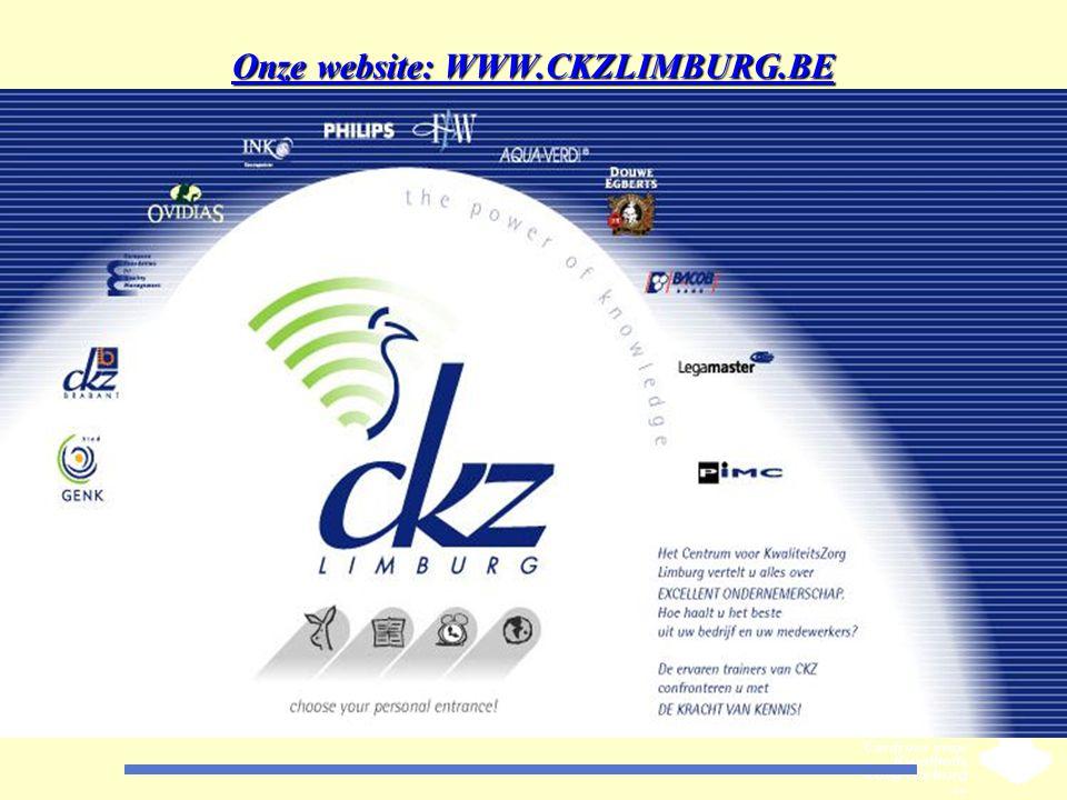 Onze website: WWW.CKZLIMBURG.BE