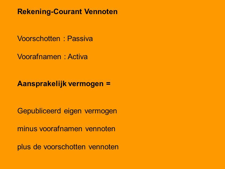Rekening-Courant Vennoten