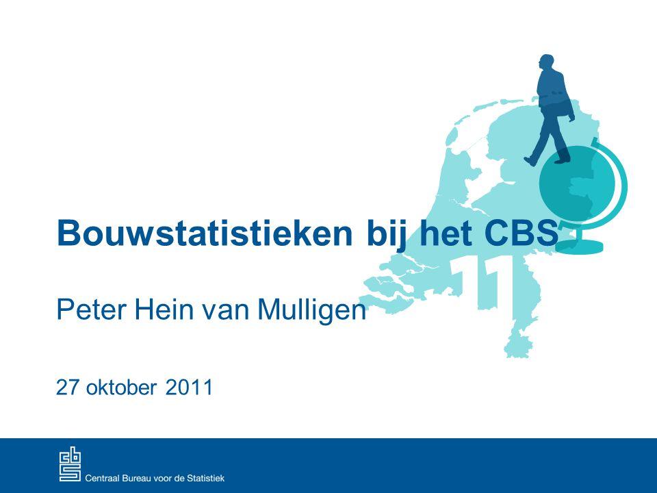 Bouwstatistieken bij het CBS