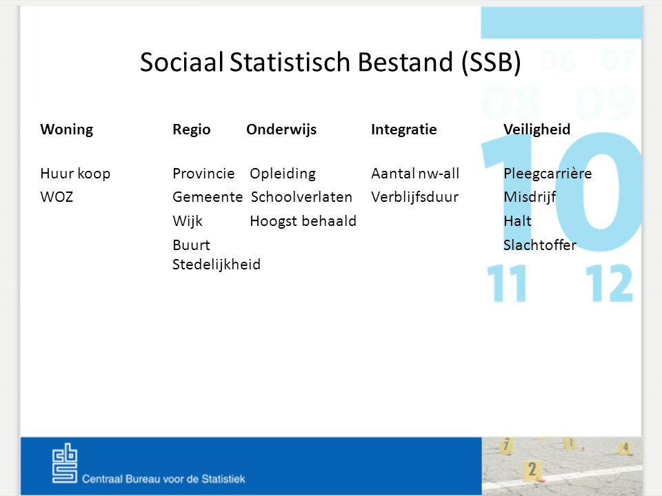 Sociaal Statistisch Bestand (SSB)