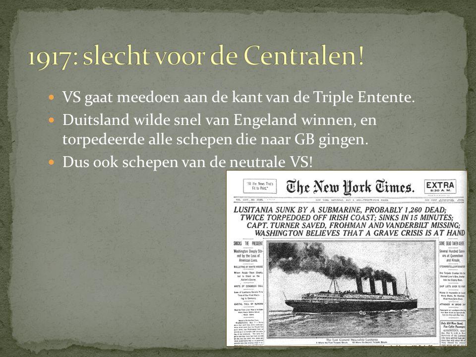 1917: slecht voor de Centralen!