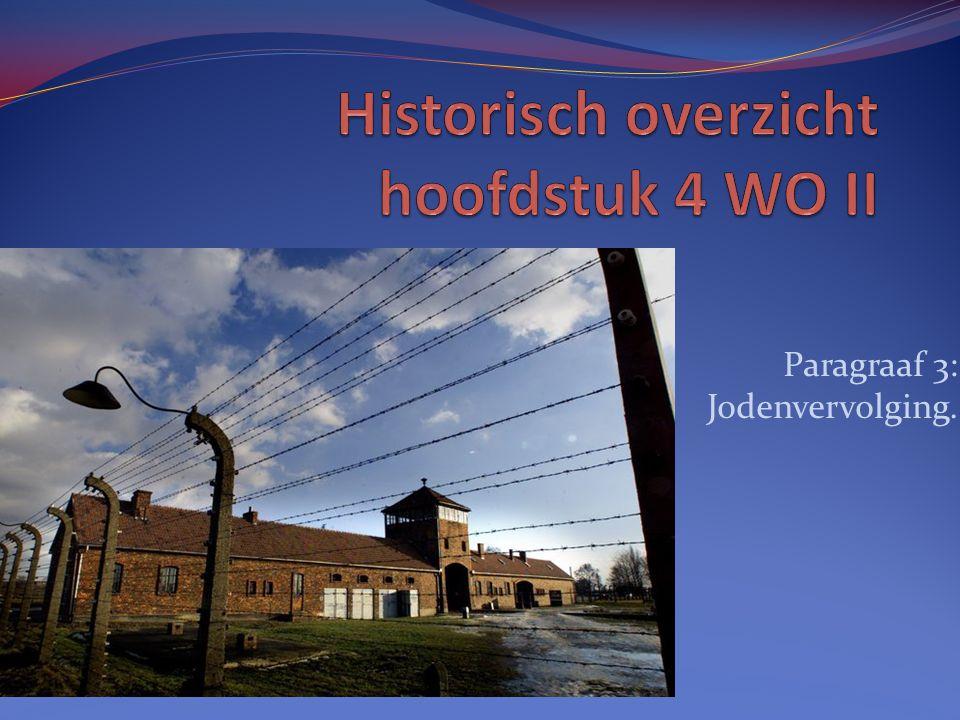 Historisch overzicht hoofdstuk 4 WO II