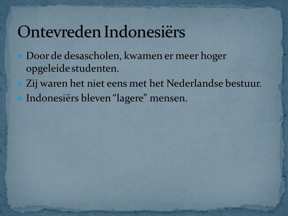 Ontevreden Indonesiërs