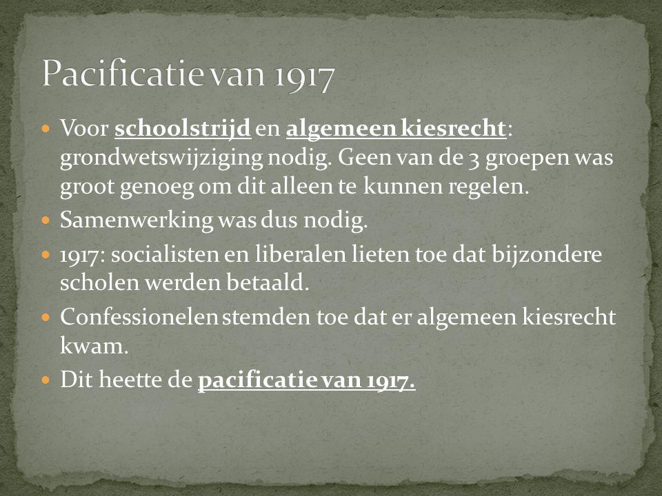 Pacificatie van 1917