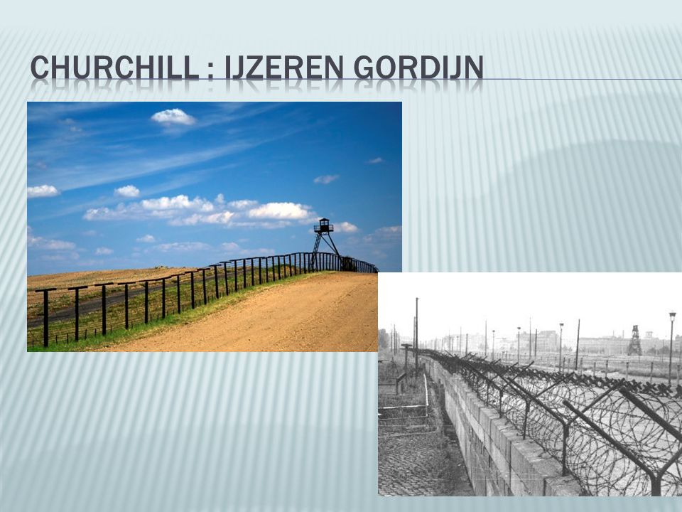 Churchill : IJzeren Gordijn