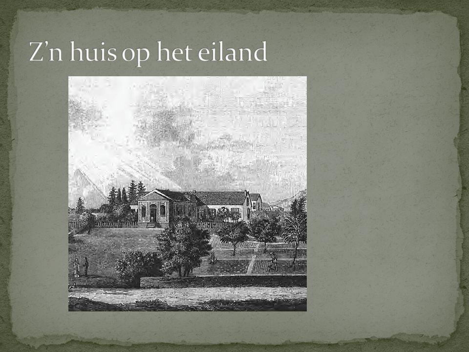 Z'n huis op het eiland