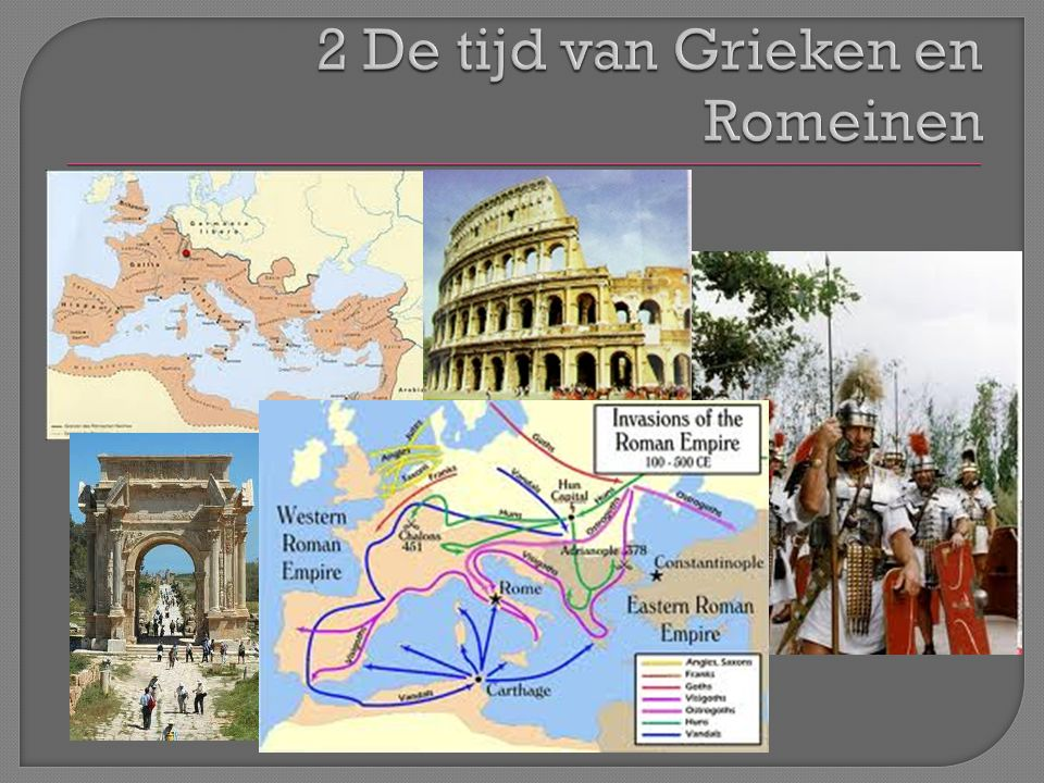 2 De tijd van Grieken en Romeinen