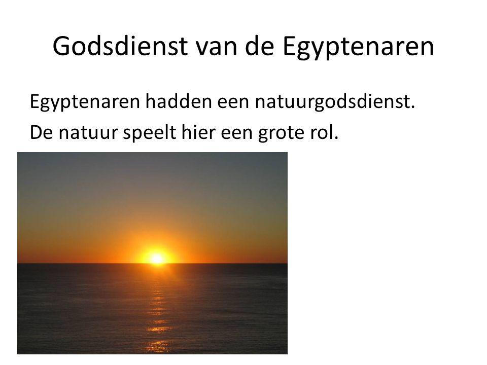 Godsdienst van de Egyptenaren