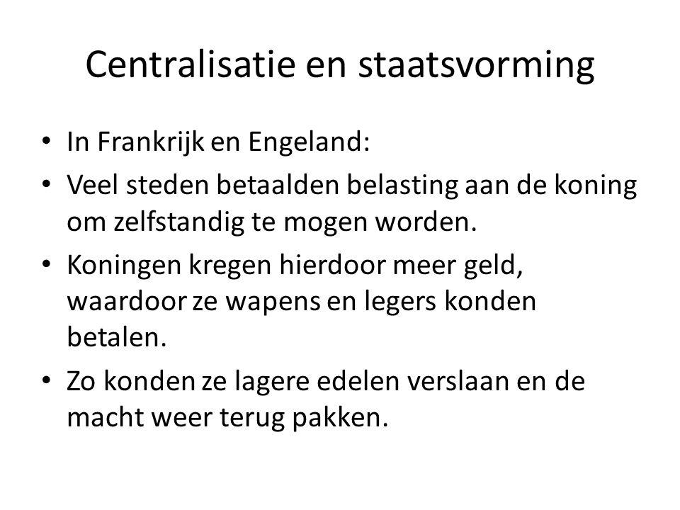 Centralisatie en staatsvorming