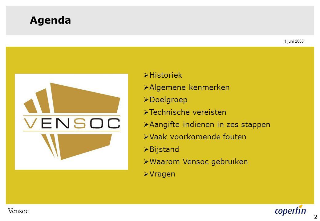 Agenda Historiek Algemene kenmerken Doelgroep Technische vereisten