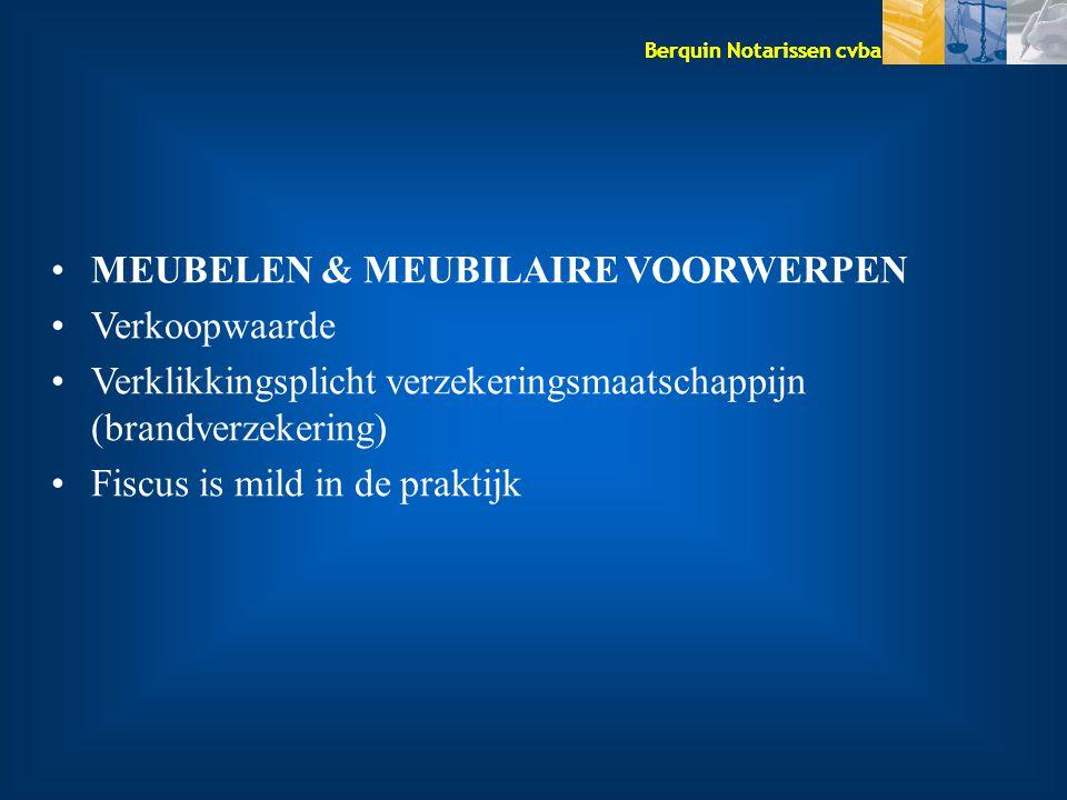MEUBELEN & MEUBILAIRE VOORWERPEN