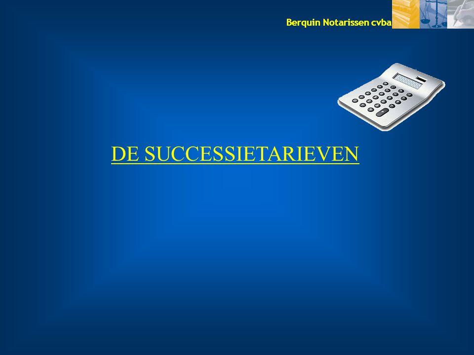 DE SUCCESSIETARIEVEN