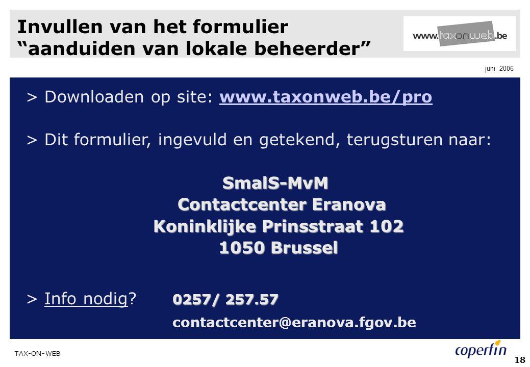 Contactcenter Eranova Koninklijke Prinsstraat 102
