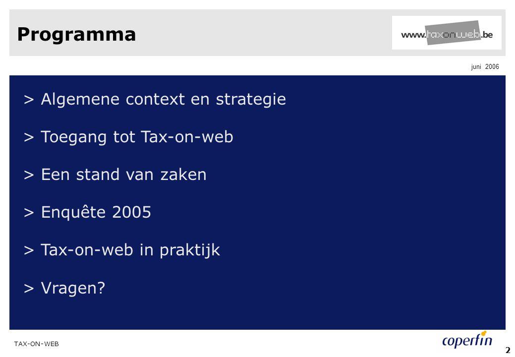 Programma > Algemene context en strategie