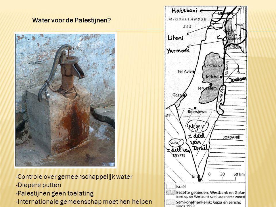 Water voor de Palestijnen