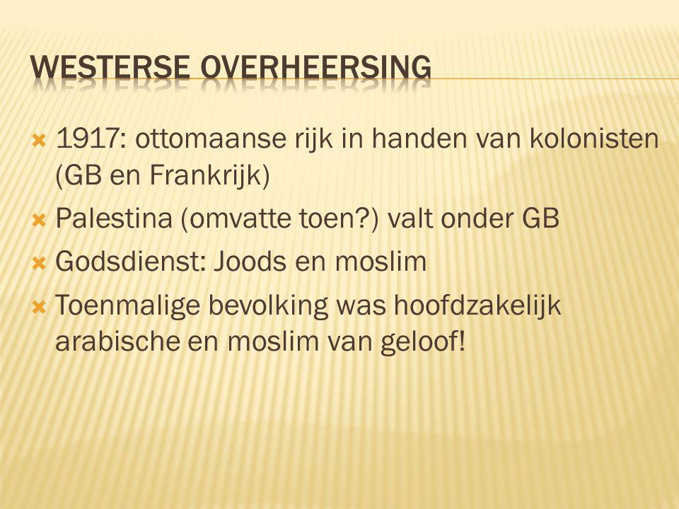 Westerse overheersing