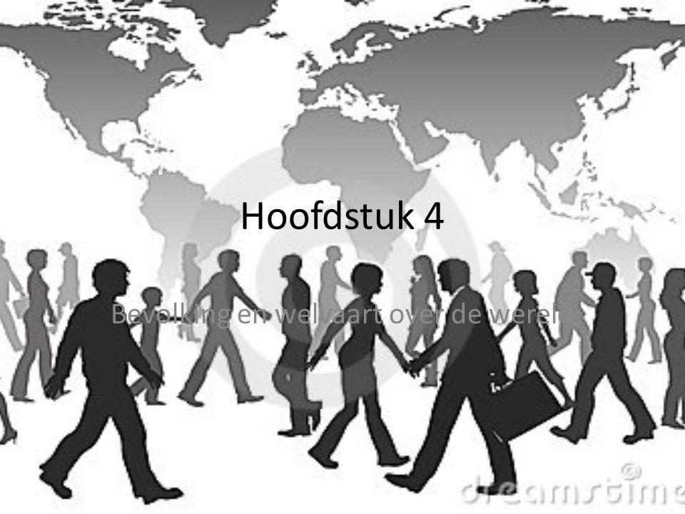 Bevolking en welvaart over de wereld