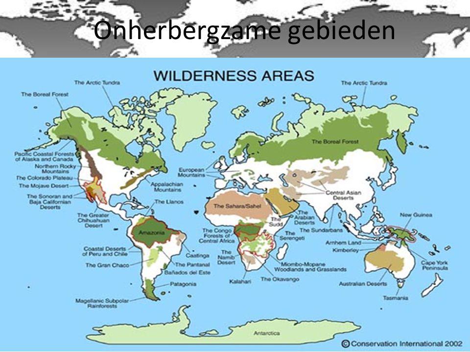 Onherbergzame gebieden