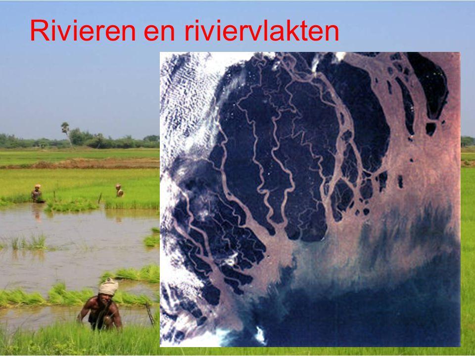 Rivieren en riviervlakten