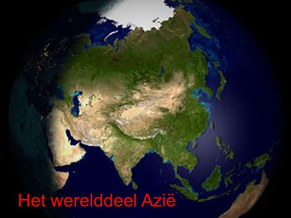 Het werelddeel Azië