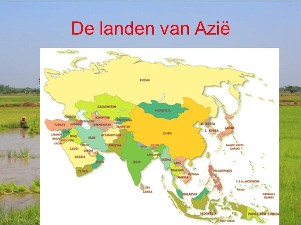 De landen van Azië