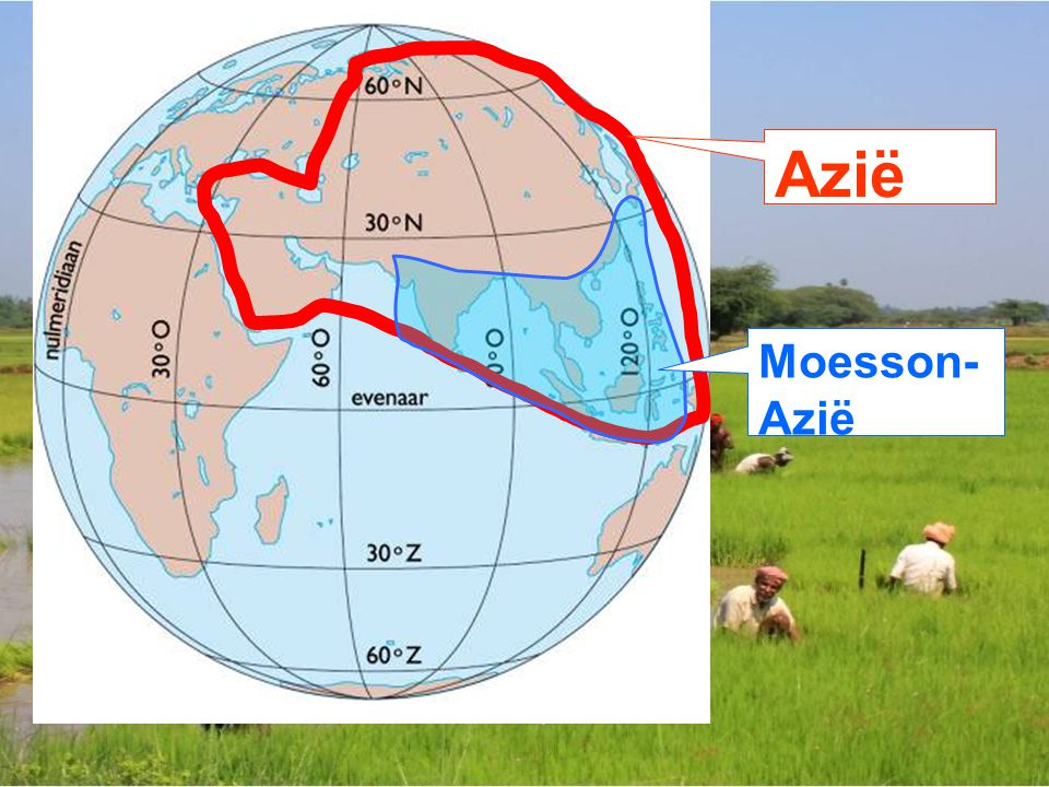 Azië Moesson-Azië
