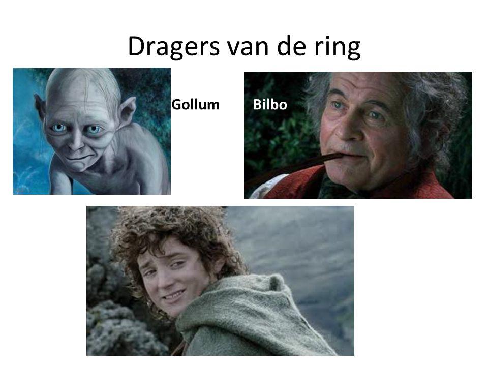 Dragers van de ring Bilbo Gollum