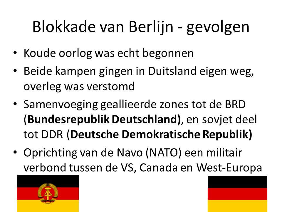 Blokkade van Berlijn - gevolgen
