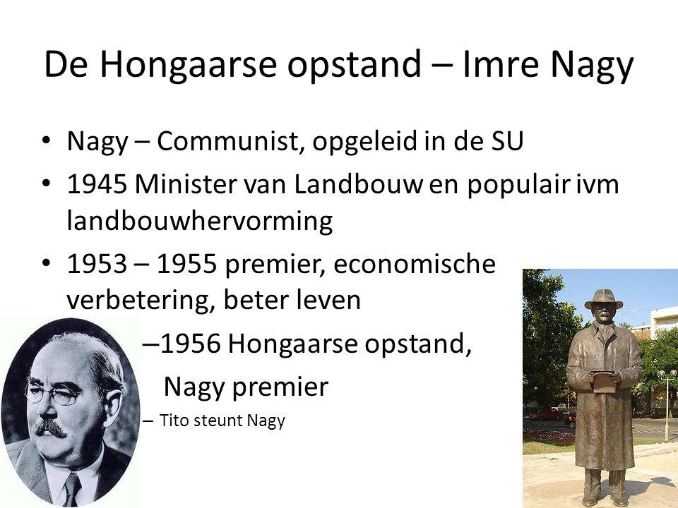 De Hongaarse opstand – Imre Nagy