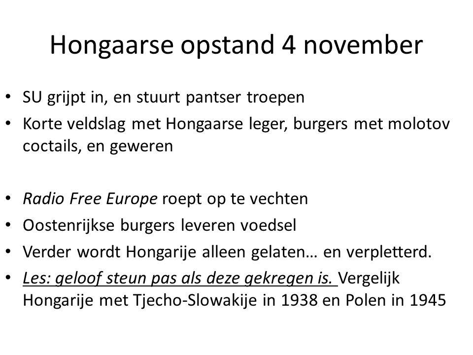 Hongaarse opstand 4 november