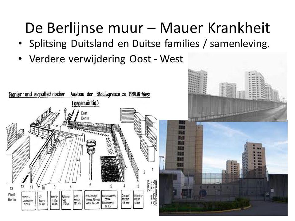 De Berlijnse muur – Mauer Krankheit