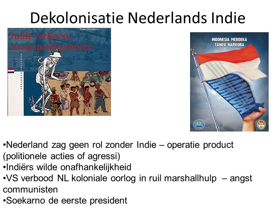Dekolonisatie Nederlands Indie