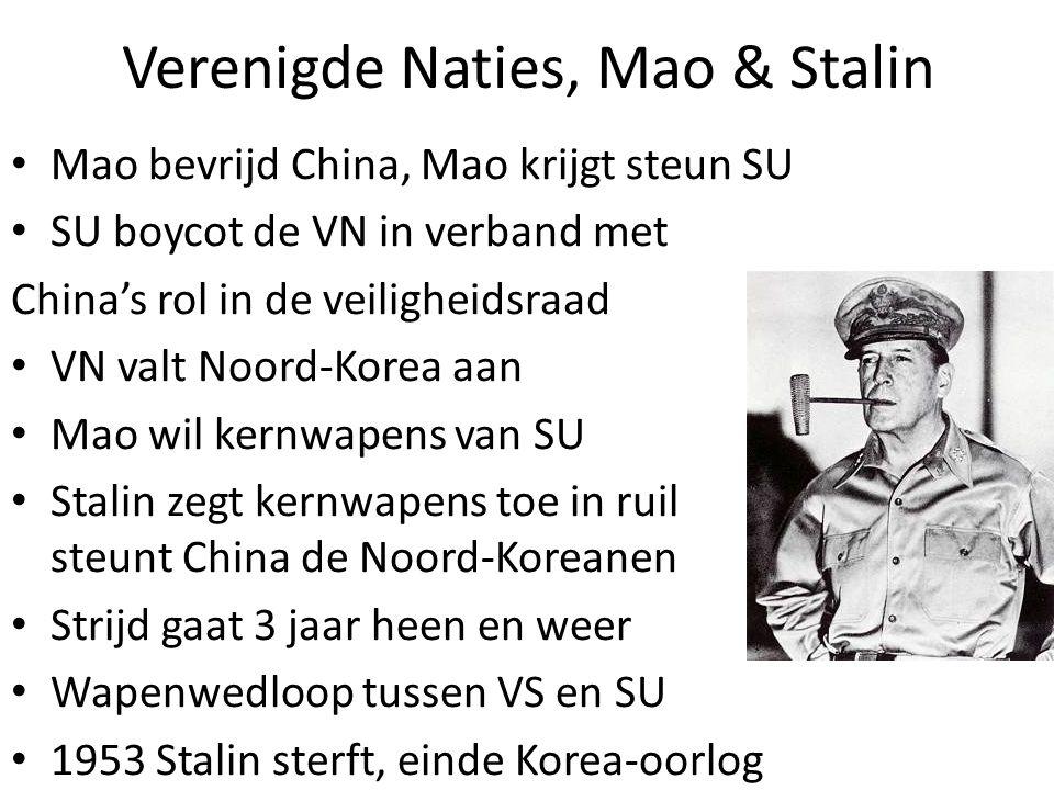 Verenigde Naties, Mao & Stalin