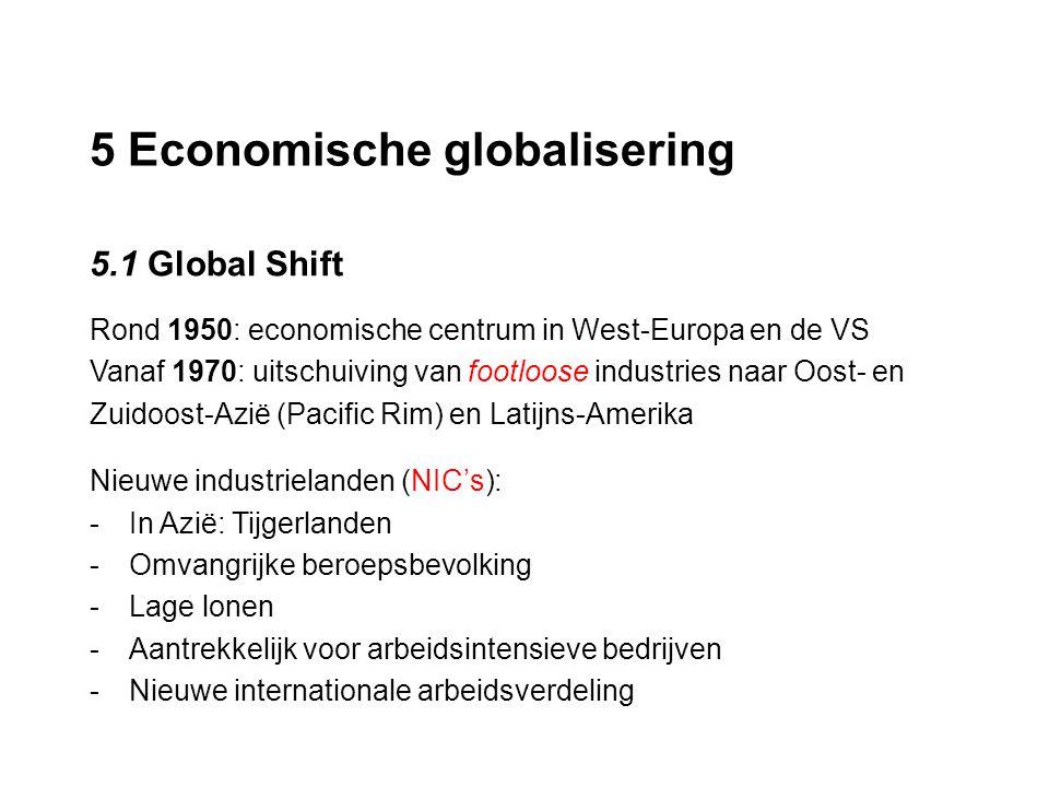 5 Economische globalisering