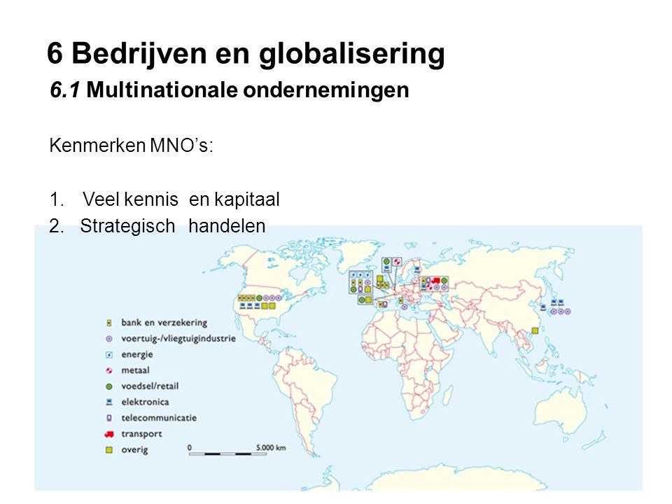 6 Bedrijven en globalisering