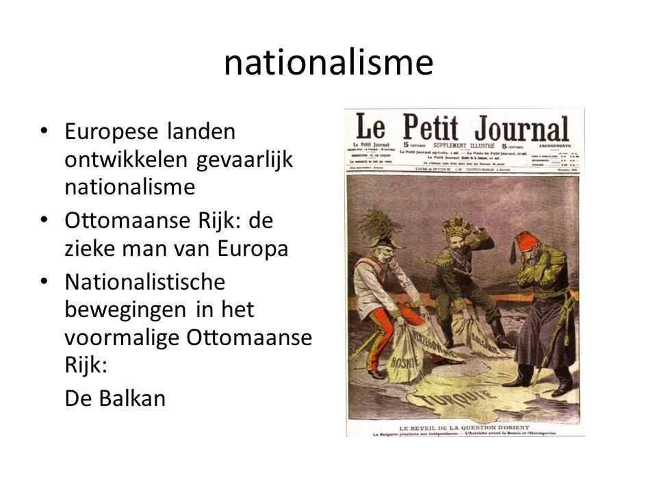 nationalisme Europese landen ontwikkelen gevaarlijk nationalisme