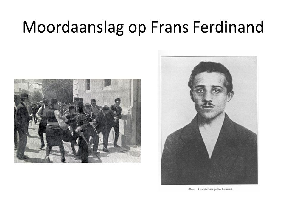 Moordaanslag op Frans Ferdinand