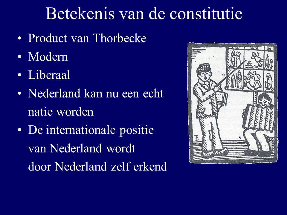Betekenis van de constitutie